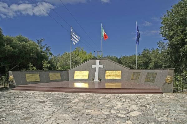 Memorial to Italian Soldiers - Kefalonia