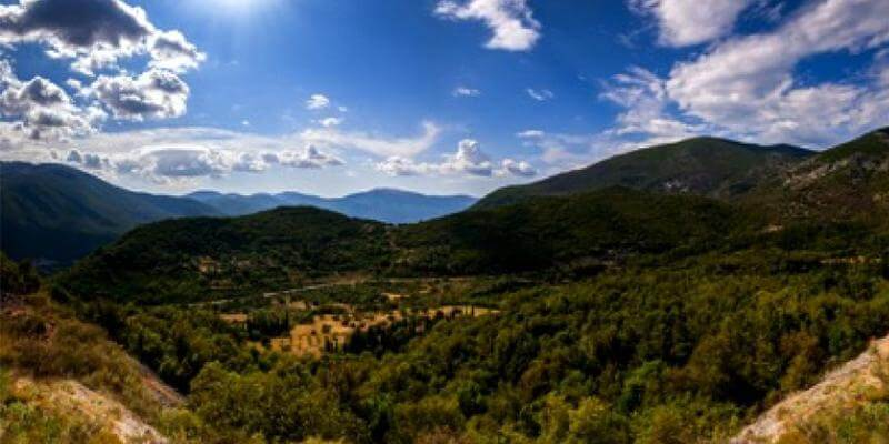 The glorious Aenos mountain of Kefalonia