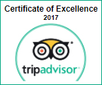 Hotel Odyssey - TripAdvisor, Certificate of Excellence 2017